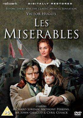 Cover of Les Miserables - Richard Jordan and Anthony Perkins DVD - 5027626388942