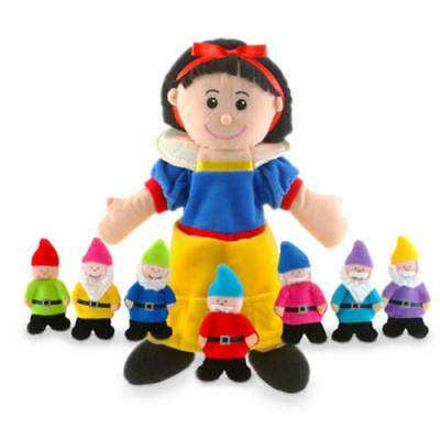 Cover of Snow White Hand & Finger Puppet - Fiesta Crafts - 5034309105635