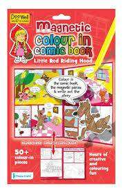 Cover of Magnetic Color in Comic Book Little Red Hen - 5034309111209