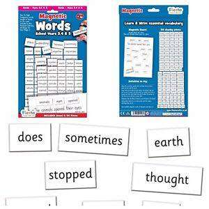 Cover of Magnetic Words Pack Ages 7-10 Years - Fieats Crafts - 5034309111261