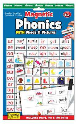 Cover of Phonics Word Magnets - 5034309112688