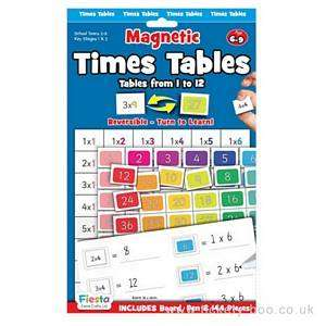 Cover of Magnetic Times Tables age 6-9 years - 5034309112763