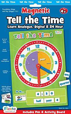 Cover of Magnetic Tell The Time Pack Age 4+ - 5034309114200