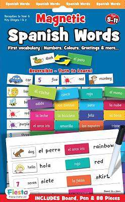 Cover of Magnetic Spanish Words Age 5 - 11 Years - 5034309114262