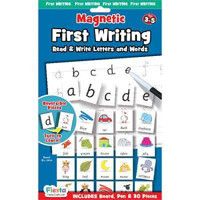 Cover of Magnetic First Writing - Fiesta Crafts - 5034309114927