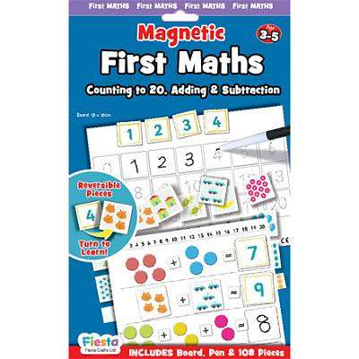 Cover of Magnetic First Maths - Fiesta Crafts - 5034309114934
