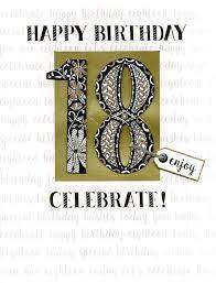 Cover of 18th Birthday - Large Card - Second Nature - 5034527275639