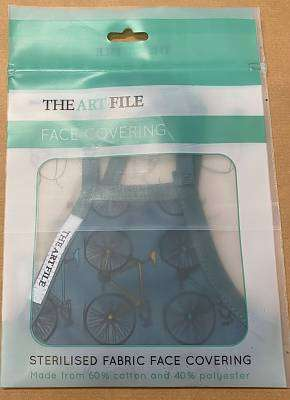 Cover of Bikes Medium Face Covering - Art File - 5035268421248