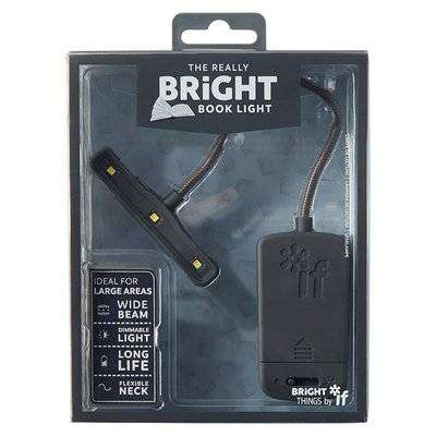 Cover of Really Bright Book Light - Grey - If - 5035393399016
