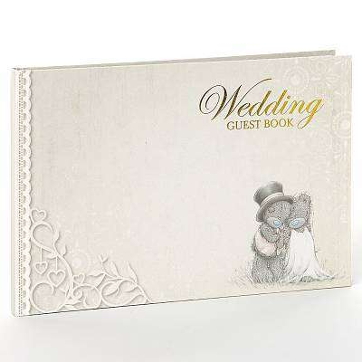 Cover of Wedding Guest Book - Carte Blanche - 5035924385389