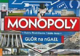 Cover of Monopoly Glor na nGael - 5036905024143