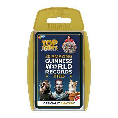 Cover of Top Trumps Guinness World Records - 5036905032780