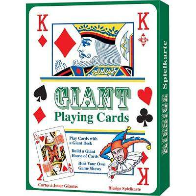 Cover of Giant Playing Cards - Tobar - 5038728045565