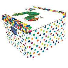 Cover of COLLAPSIBLE STORAGE BOX - Eric Carle  Hungry Caterpillar - Robert Frederick - 5051237030792