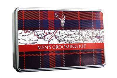 Cover of Gentlemen's Five Piece Grooming Kit - Tartan Stag - Rober Fredrick - 5051237067941