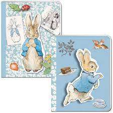 Cover of Peter Rabbit Pin Up A6 Soft Cover Notebook - Robert Fredrick - 5051237070989