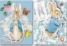 Cover of Mini Magnetic Notebooks  - Peter Rabbit - Robert Frederick - 5051237070996