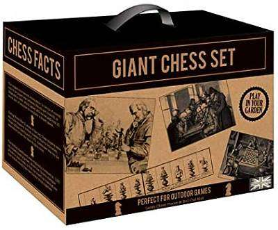 Cover of Giant Chess Kraft Paper Garden Games - Robert Frederick - 5051237071399