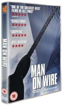 Cover of Man on Wire DVD - 5051429101552