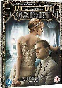 Cover of The Great Gatsby (2013) DVD - Unknown - 5051892123921