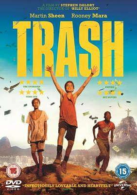 Cover of Trash DVD - 5053083028213