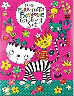 Cover of My Purr-fectly Pawsome Writing Set - Rachel Ellen - 5055040859960