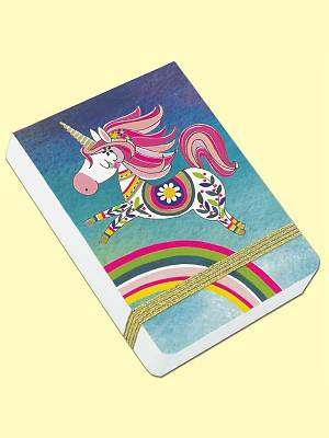 Cover of Mini Journal - Unicorn - Rachel Ellen Designs - 5055040860027