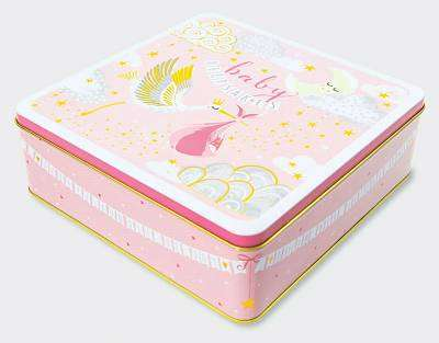Cover of Baby Girl Keepsakes Tin - Rachel Ellen - 5055040861208