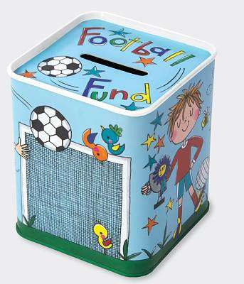 Cover of Football Fund Money Box - M.E.g - 5055040868047