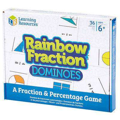 Cover of Rainbow Fraction Dominoes - 5055506405021