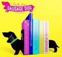 Cover of Really Long Sausage Dog Bookends - Mustard - 5055998803633