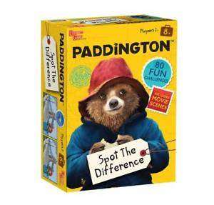 Cover of Paddington Spot The Difference - 5056015000196