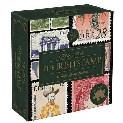 Cover of Irish Stamp 1000 piece Puzzle - 5056297202509