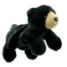 Cover of Full Bodied Puppet Black Bear - Puppet Company - 5060311834355