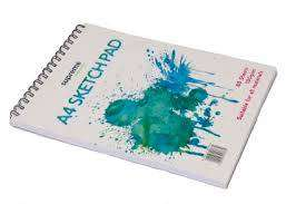Cover of Sketch Pad A4 80 Sheet 100gsm - 5099073013630