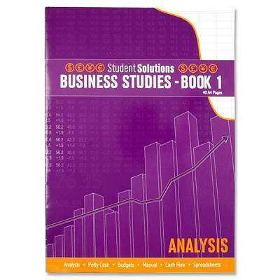 Cover of Business Record Book 1 - 5390380035392