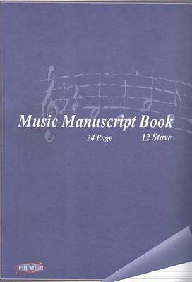 Cover of A4 Music Manuscript Copy - 5390380035408