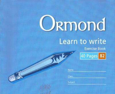Cover of Ormond B2 Handwriting Copy - 5390380037099