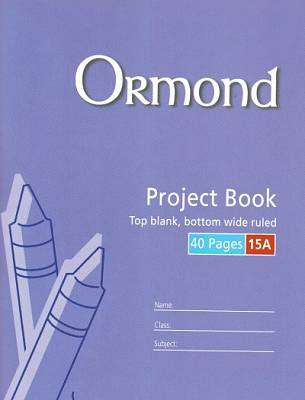Cover of Ormond No 15A Project Copy - 5390380037150