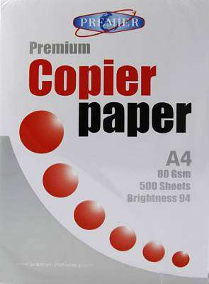 Cover of Ream A4 Copier Paper - 5390380044486