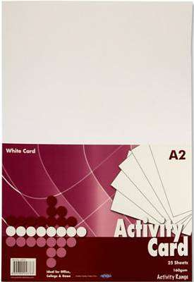 Cover of Premier A2 Activity Card White - 5390380046763