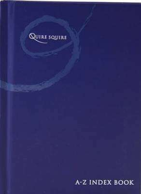 Cover of Quire Squire A6 A-Z Index Book - 5390380557979