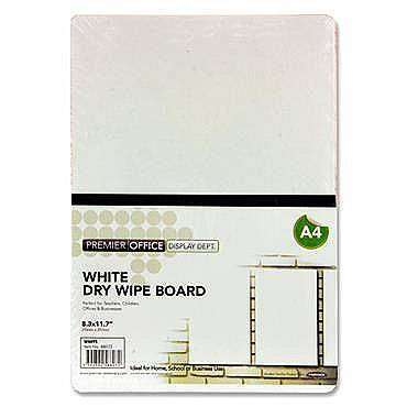 Cover of Premier Office A4 Coloured Dry Wipe Board White - 5390380588072