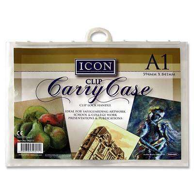 Cover of Icon A1 Carry Case with Handle - 5390380590211