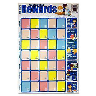 Cover of Clever Kidz Task & Reward Wall Chart - 5390380591959