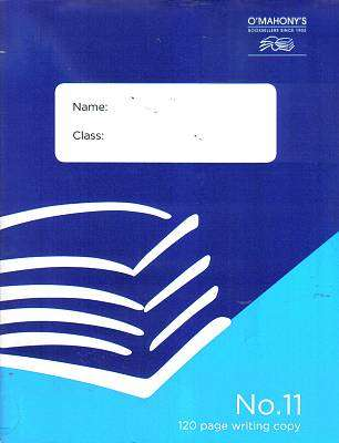 Cover of No.11 120 Page Writing Copy (Pack of 10) - 5391515233393
