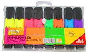 Cover of Supreme Highlighters 6+2 Free - 5391515239906