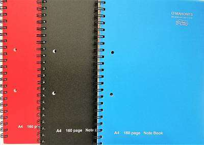 Cover of A4 160 Page Spiral Notebook - RDI - 5391521021045