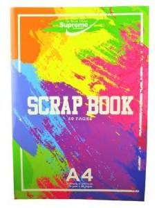 Cover of A4 Coloured Page Scrapbook - 5391530586153