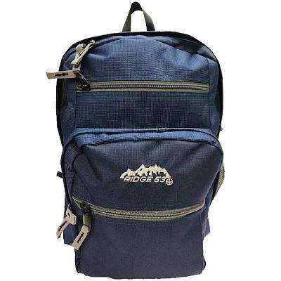 Cover of College Backpack Navy / Grey - 5391533511329